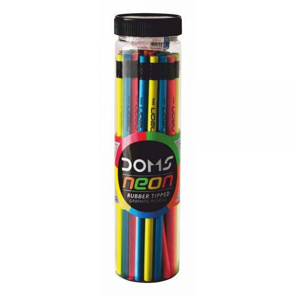 Doms Neon Jar Pencil